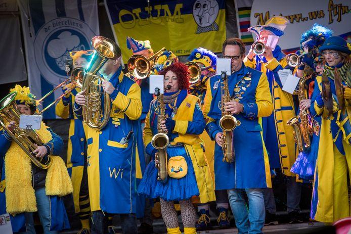 Carnaval in Helmond in 2020, voorlopig het laatste 'normale' carnavalsjaar.