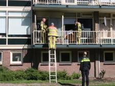 Brand in ventilatiesysteem Apeldoornse flatwoning