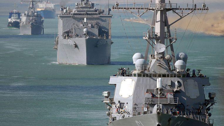 De USS Ramage. Beeld afp
