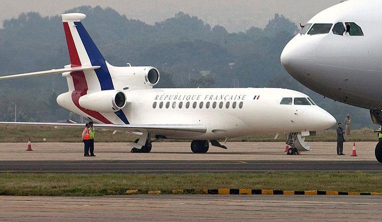 Een Frans regeringsvliegtuig. (archieffoto)