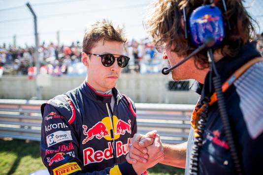 AUSTIN, TX - OCTOBER 22:  Daniil Kvyat of Scuderia Toro Rosso and Russia during the United States Formula One Grand Prix at Circuit of The Americas on October 22, 2017 in Austin, Texas.  (Photo by Peter Fox/Getty Images)