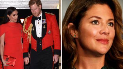 """Harry en Meghan """"extreem bezorgd"""" over Canadese presidentsvrouw Sophie Trudeau, die positief testte voor corona"""