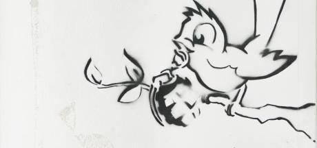 Veiling van wereldberoemde Banksy in Zwolle: primeur voor Nederland