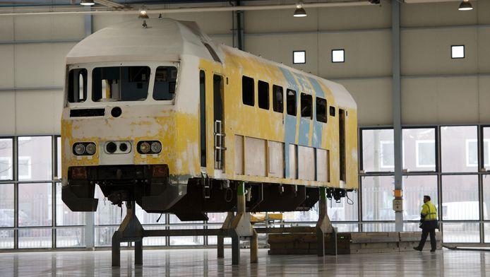 De kankerverwekkende verf werd vooral gebruikt voor treinen uit de jaren 90, zegt FNV Spoor