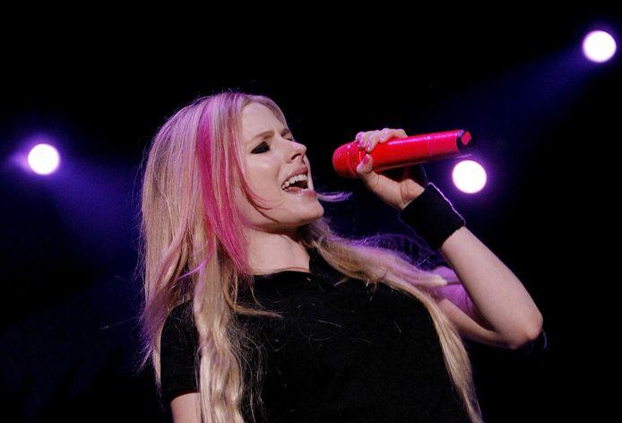 Avril Lavigne in 2007.