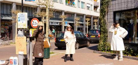 Protest in Zeist: 'Eerst een onderzoek naar de gezondheidsrisico's van een nieuw 5G-netwerk'