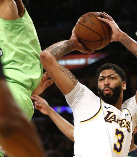 Magistrale Anthony Davis leidt Lakers langs Timberwolves