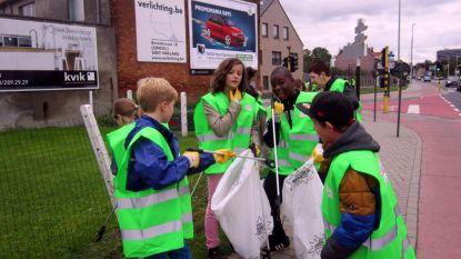 Grote zwerfvuilacties in Sint-Niklaas en deelgemeenten in maart