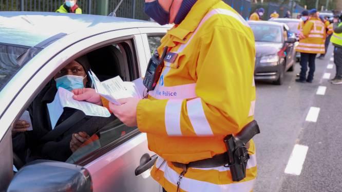Weekend zonder alcohol van start: 117 politiezones houden controles tot maandagmorgen