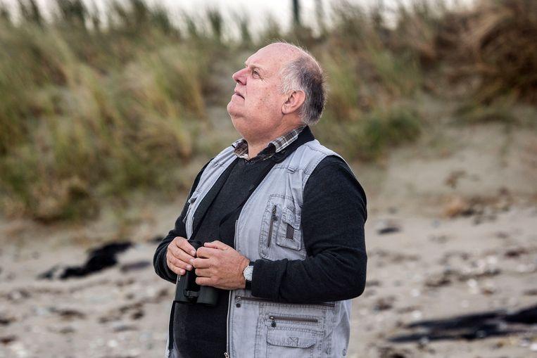 Chiel Jacobusse van het Zeeuwse Landschap. Stranden moeten weer natuurlijk worden. Beeld Arie Kievit