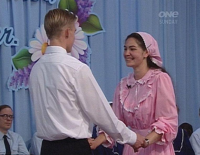 Een huwelijk bij Gloriavale.