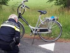 Jongen 'flink onder invloed' onder fiets gevonden in Bredevoort