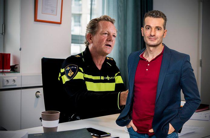 De Rotterdamse politiechef Fred Westerbeke baalt van online filmpjes over politieoptredens.