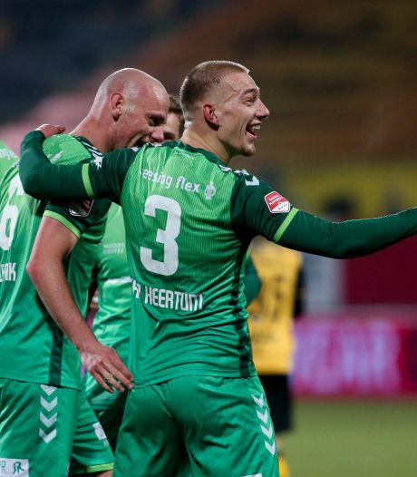 De Graafschap walst in één helft over Roda JC heen, Excelsior beëindigt horrorreeks