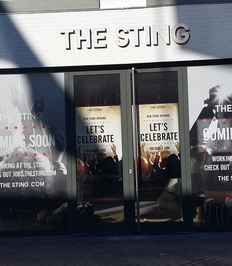 The Sting opent 2 juni