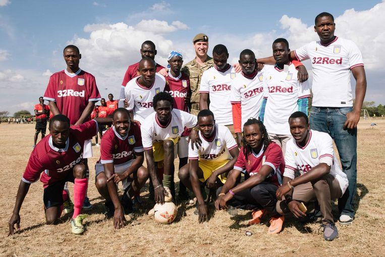 Prins WIlliam in Kenia
