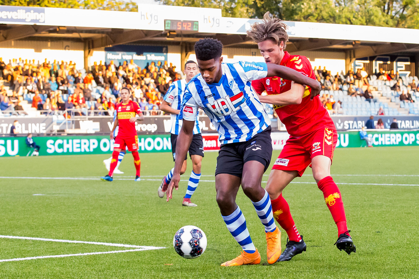 Collin Seedorf is niet fit genoeg.