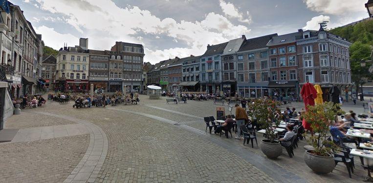 De Grote Markt van Hoei.