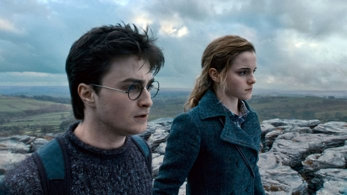 Harry Potter-acteurs Daniel Radcliffe en Emma Watson.