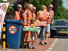 Schalkwijk wil ook drempels of paaltjes op de Provincialeweg