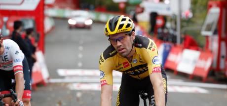 Dumoulin twijfelt over voortzetten Vuelta: 'Ik ben gewoon leeg, geen energie'
