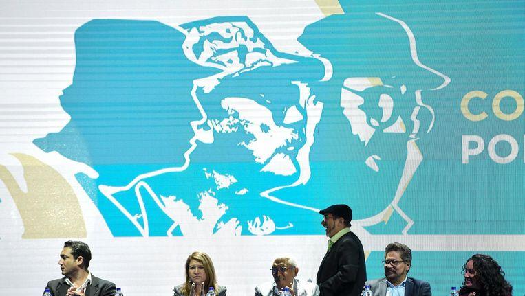 FARC leider Rodrigo Londono Echeverri, beter bekend al