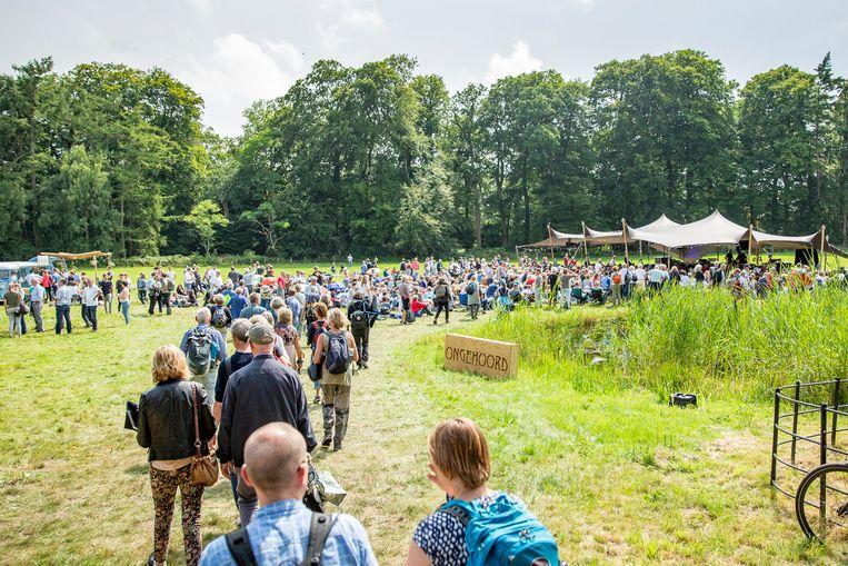 Wonderfeel trok 9200 bezoekers,  van wie 1100 kinderen Beeld Foppe Schut