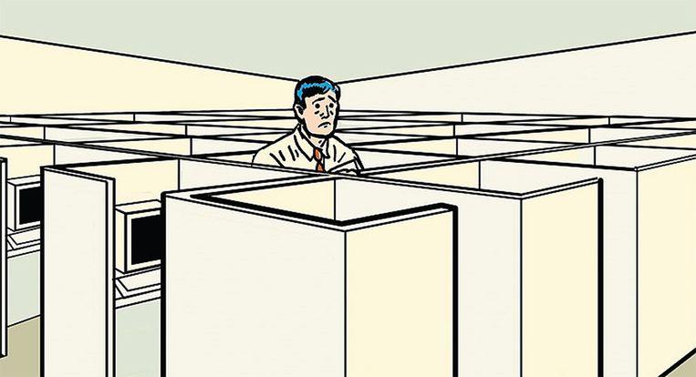 Op kantoor weet je ook nooit precies wat iedereen aan het uitspoken is.