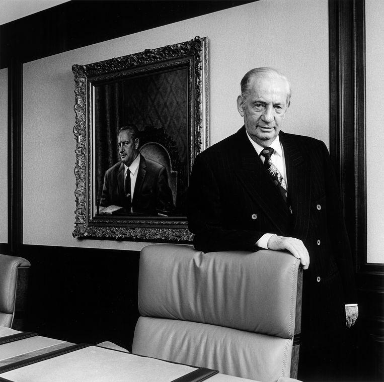 Onroerendgoedhandelaar Maup Caransa in 1995. Beeld Hollandse Hoogte / Harry Meijer