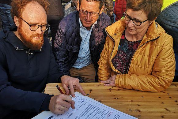 Geetbets ondertekent het charter gezonde gemeente.
