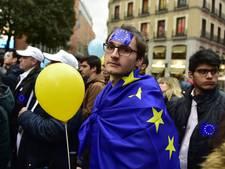 Enkele arrestaties bij demonstraties voor en tegen de EU in Rome