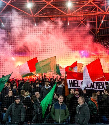Vooronderzoek naar vuurwerk bij Feyenoord-PSV