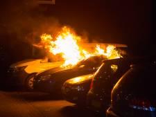 Auto helemaal uitgebrand in Boxtel