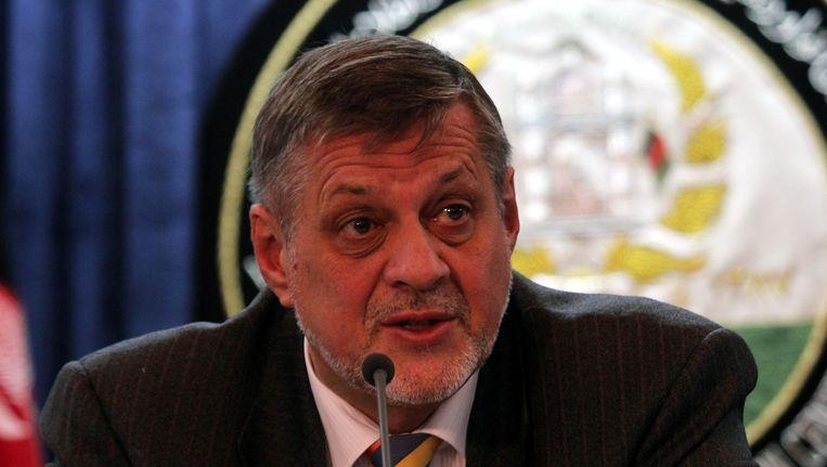 De speciale VN-afgezant in Irak Jan Kubis. Beeld epa