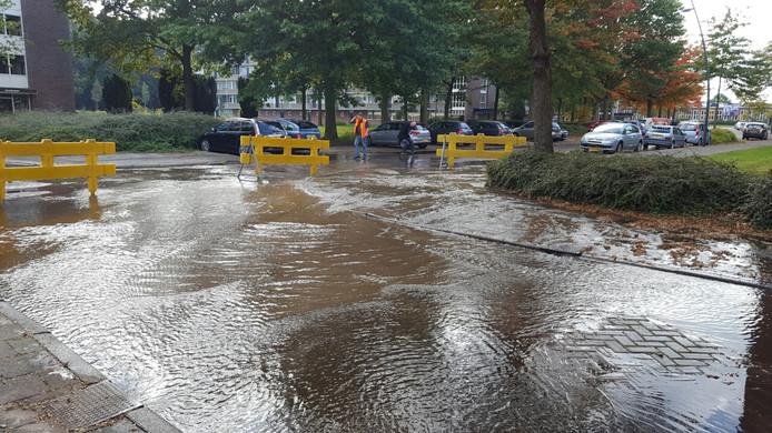 Waterlek Drossaardstraat Oosterhout