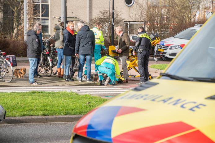 Opnieuw fietser aangereden op oversteek in Woerden