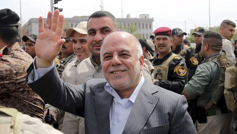 De Iraakse premier al-Abadi.