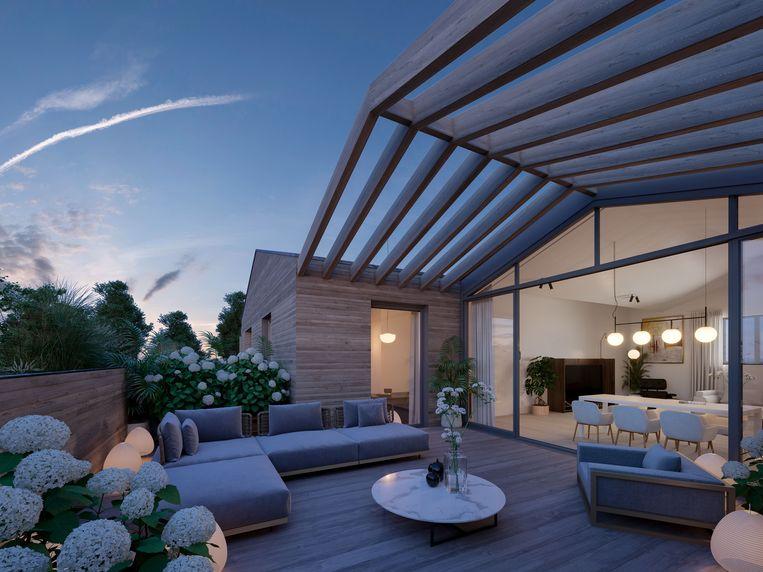 Penthouse van het nieuwbouwproject Larelle