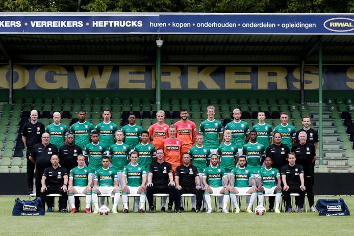 De teamfoto van FC Dordrecht werd onlangs al gemaakt.