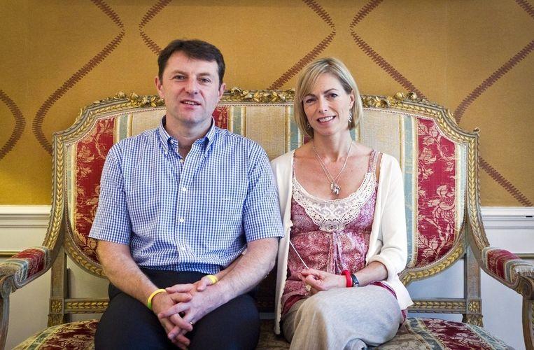 Gerry en Kate McCann in 2011 tijdens een bezoek aan Nederland. Beeld epa
