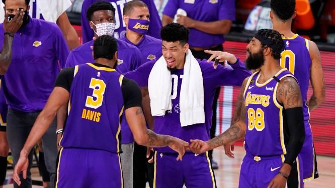 LA Lakers mogen voor de 32ste keer naar de NBA-finale