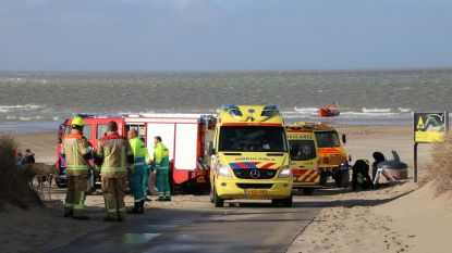 Vlaamse vrouw verdrinkt voor Zeeuwse kust