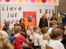 Juf Gerda moet na 43 jaar haar Willibrordusschool nu toch verlaten; 'Na volgende week is het even één diep, groot, zwart gat'