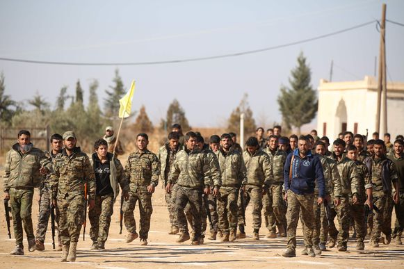 De Syrische Democratische Krachten (SDF)
