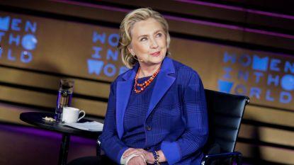 Hillary Clinton en Steven Spielberg werken samen aan serie