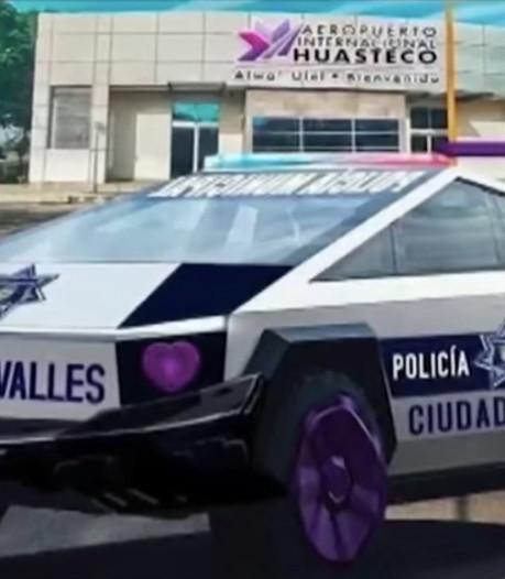 Politie in Mexicaanse stad gaat rijden met 15 Tesla Cybertrucks