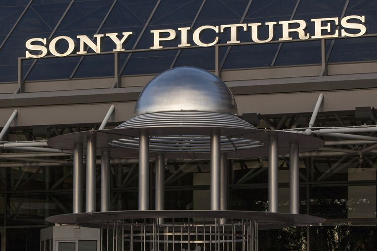 Sony Pictures Plaza in Culver City. Beeld ap