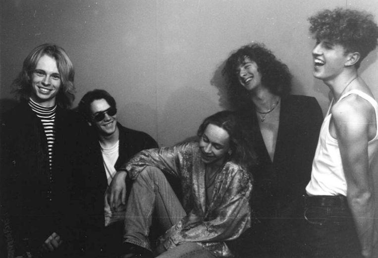 Count Zero, het bandje waar Dekker in speelde als bassist. Beeld -