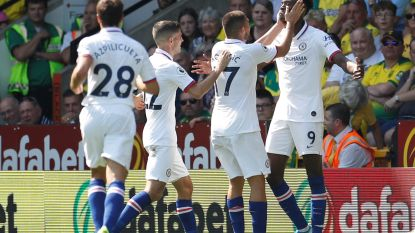 Terwijl concurrent Abraham Chelsea met twee goals naar eerste zege trapt, blijft Batshuayi op de bank