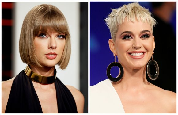Taylor Swift en Katy Perry